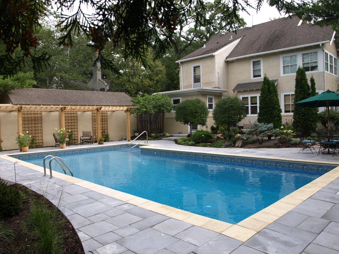 new pool deck