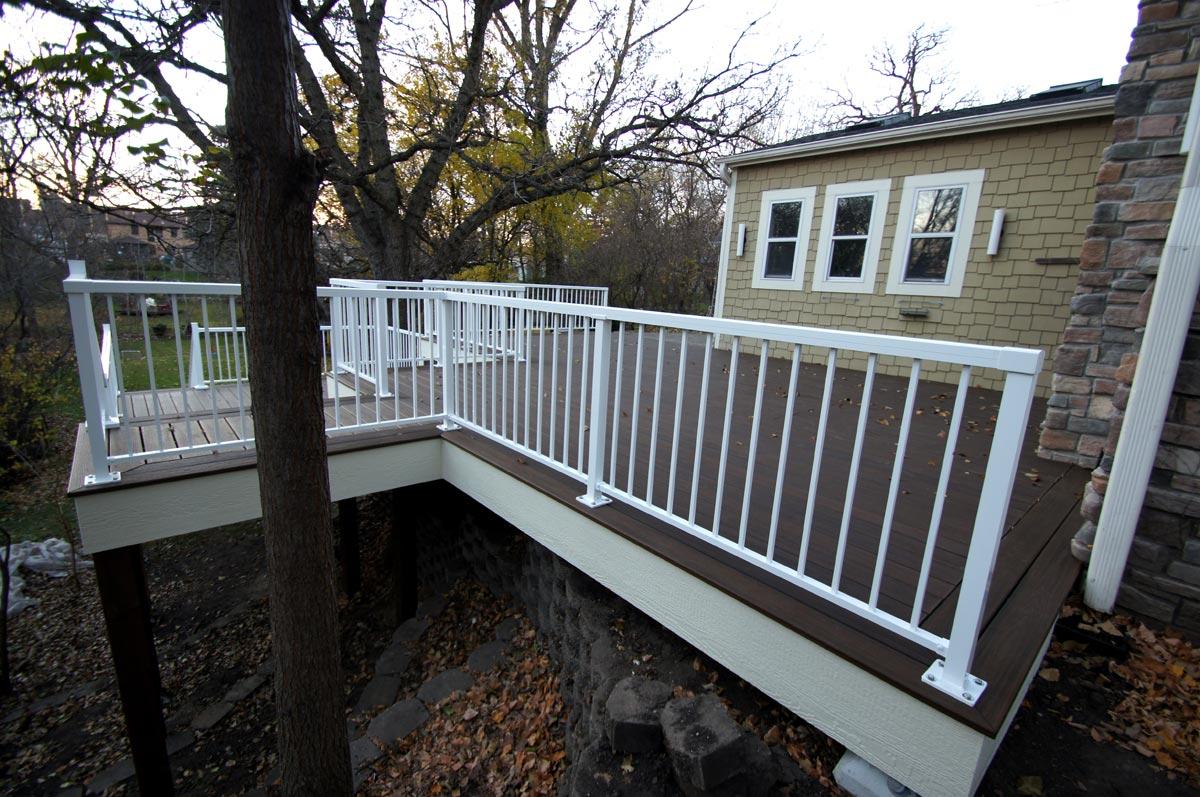 deck aluminum railing