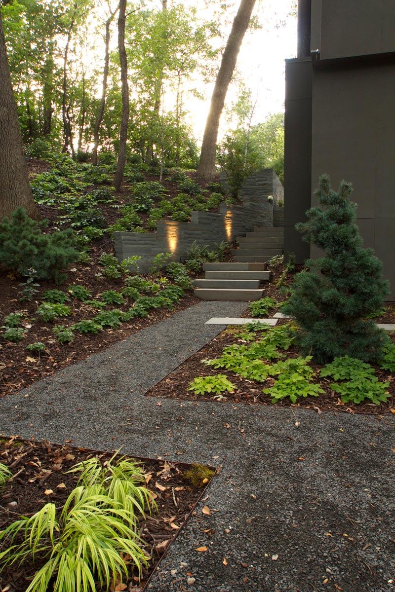 aggregate path modern