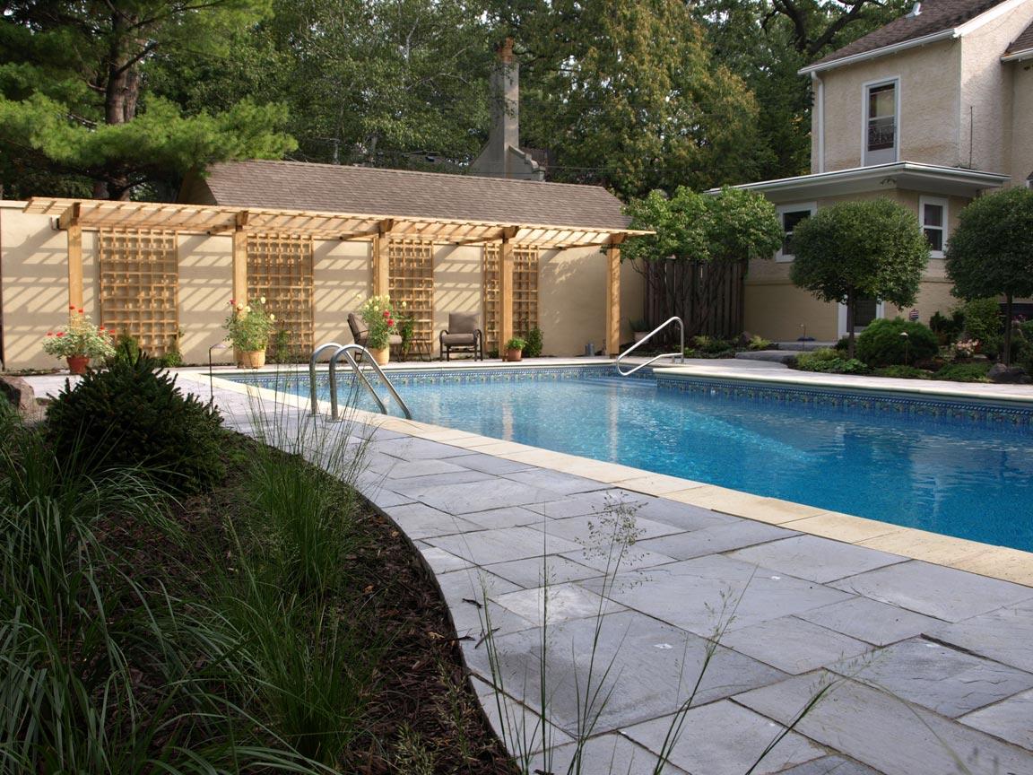 concrete paver pool