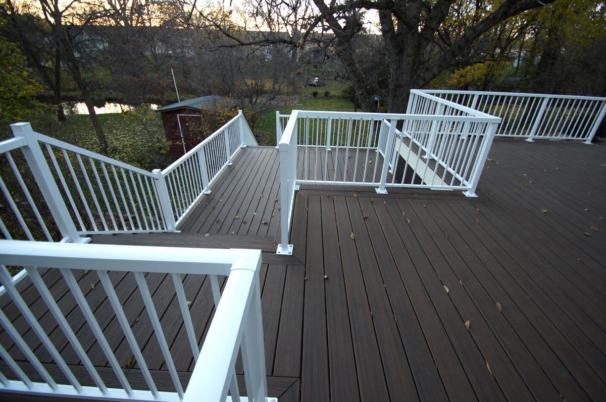 deck multi level composite