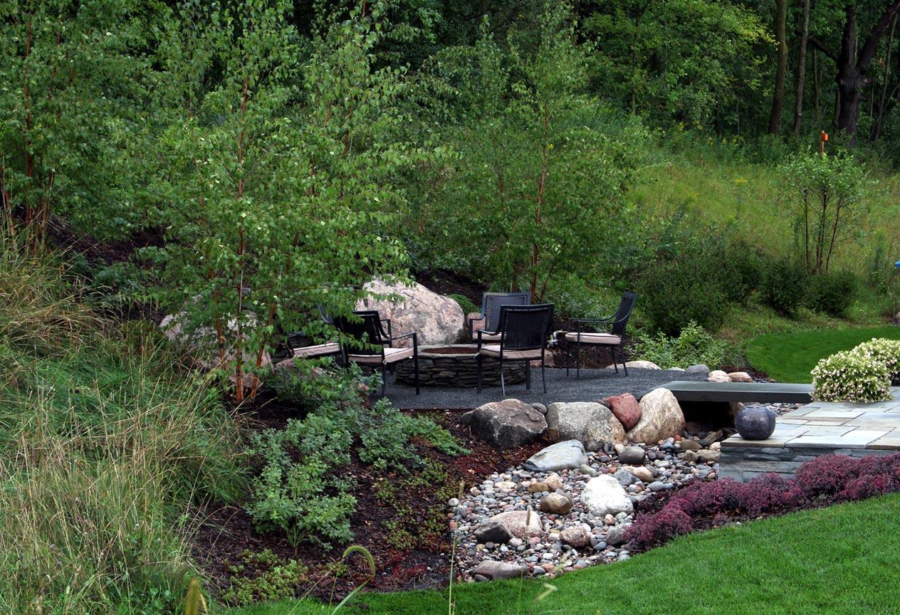 rustic terrace u0026 campfire ground one