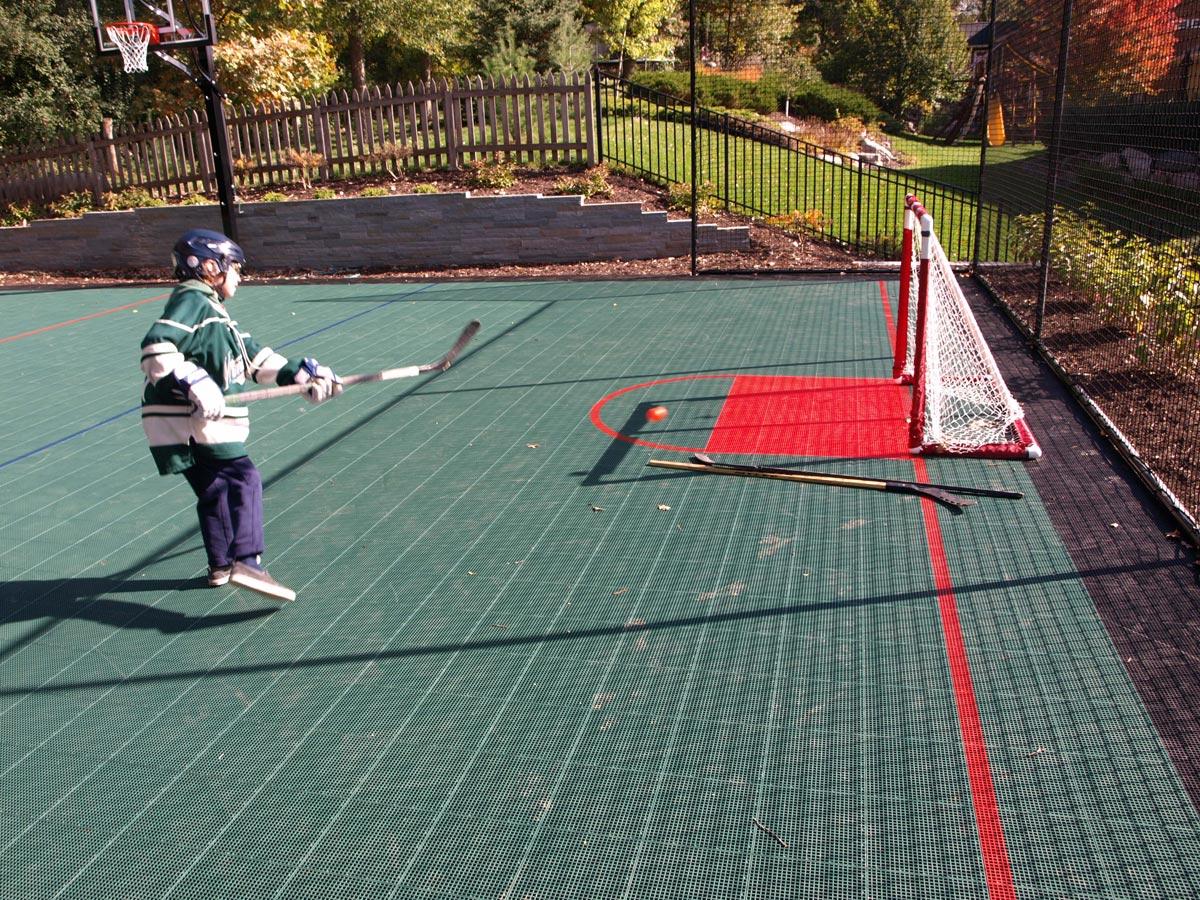 sport court hockey