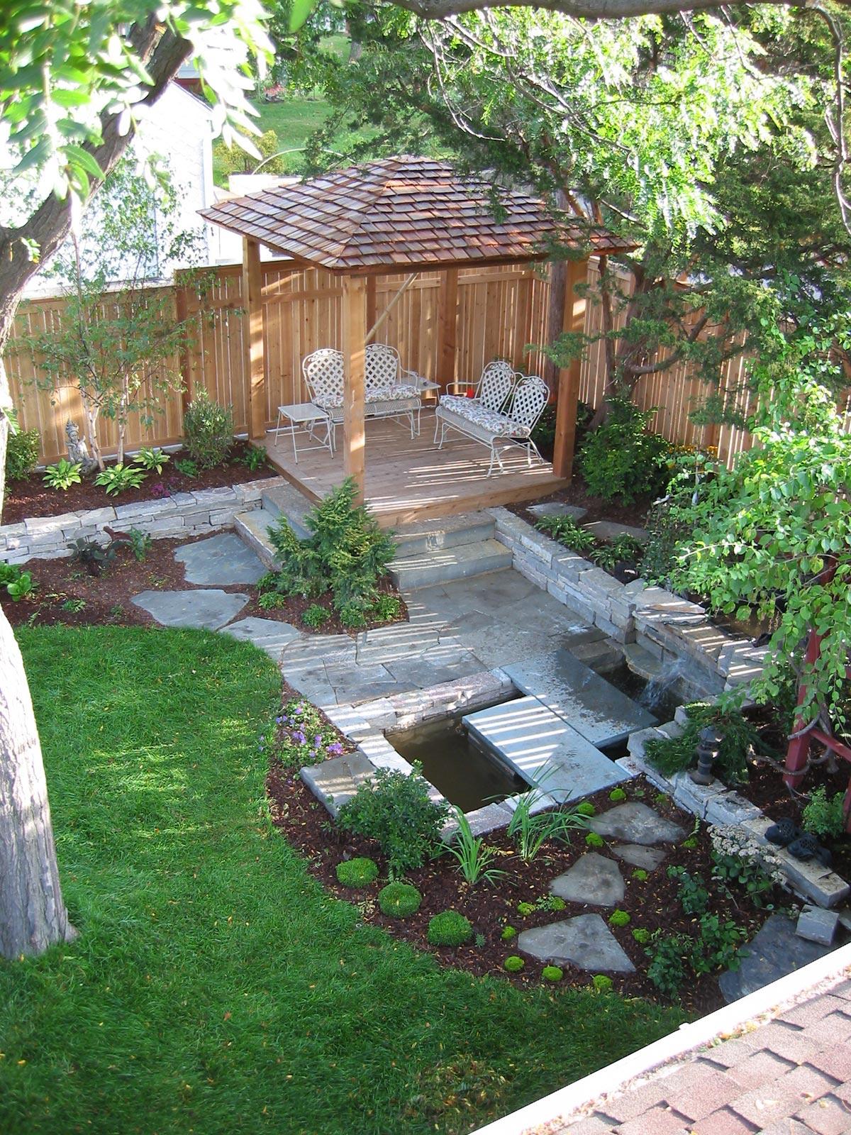 teahouse back yard