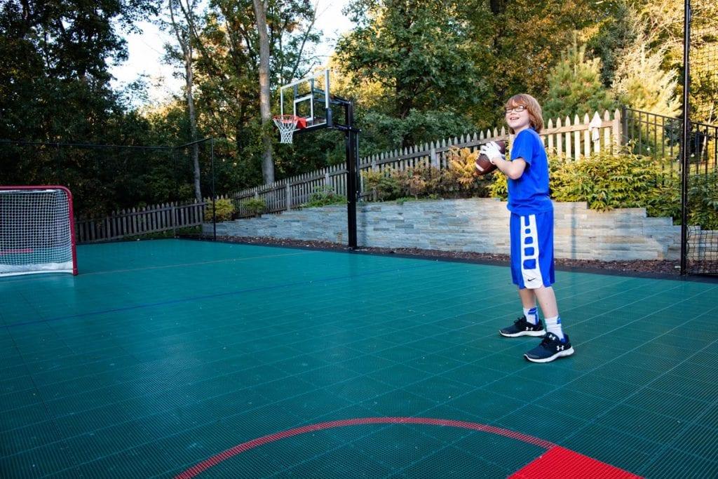 sport court woods