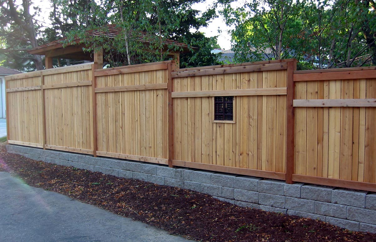 asian inspired fence