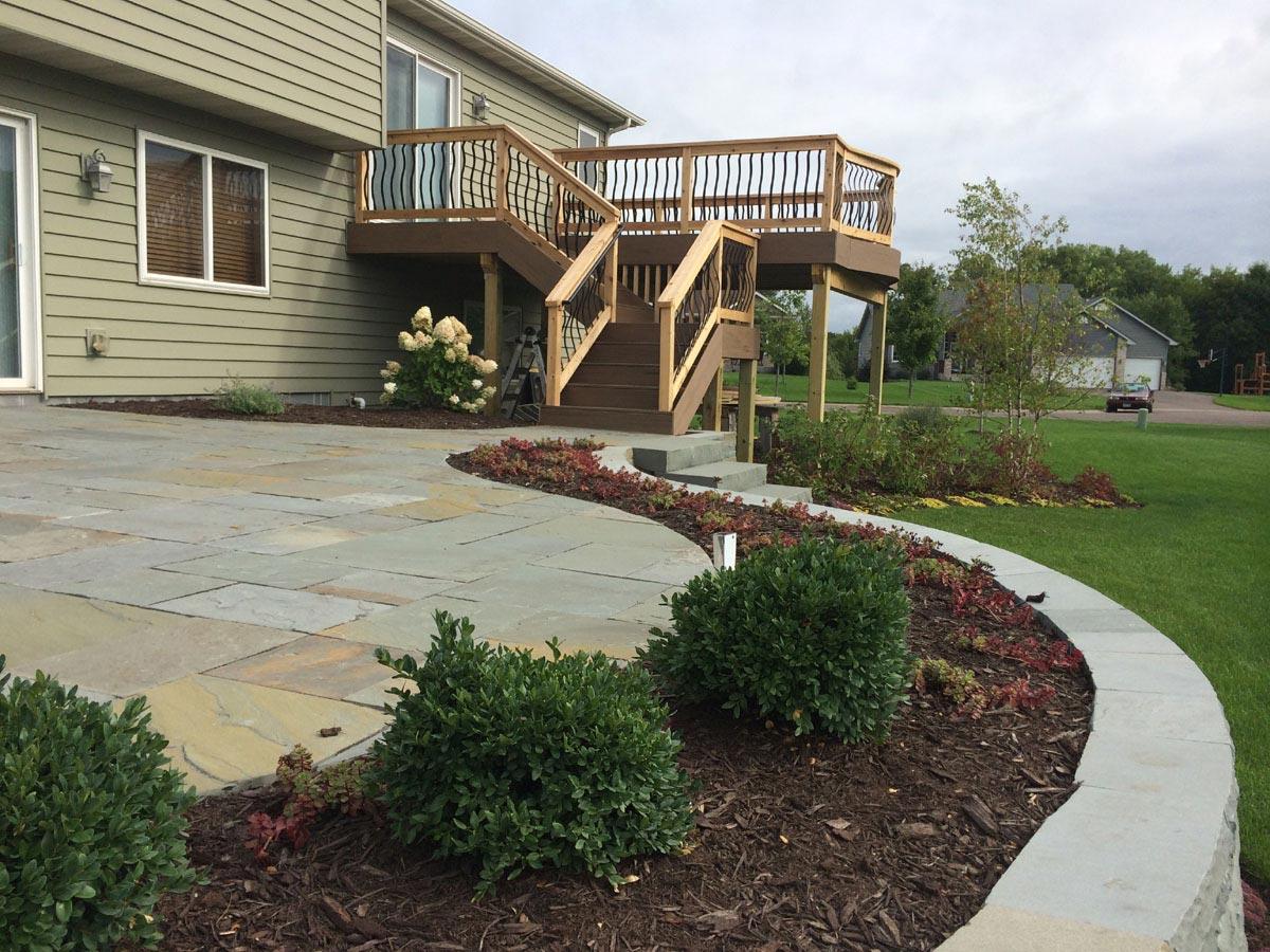 deck ornamental railing