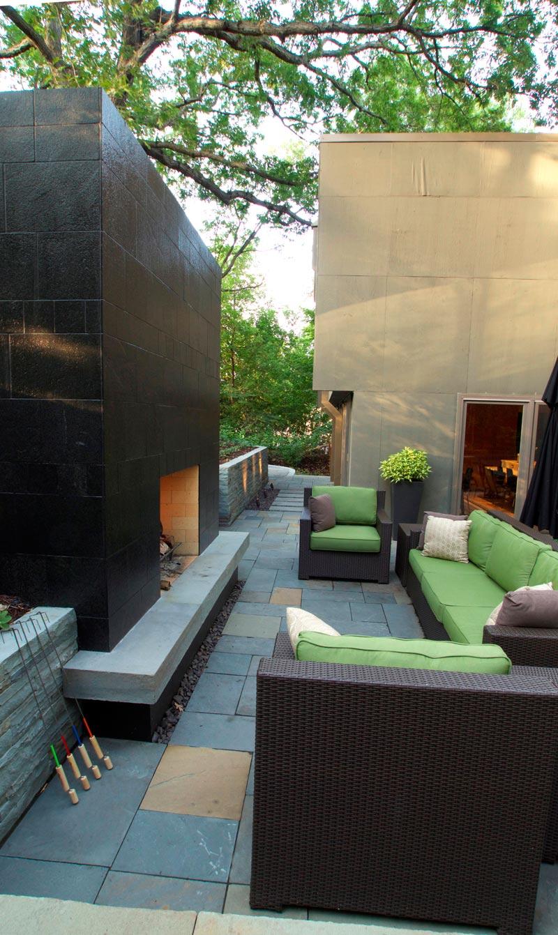 modern outdoor living ground one