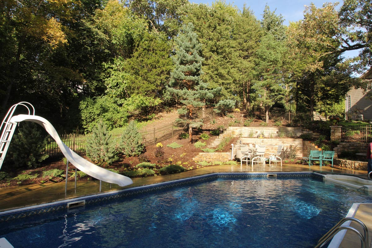 pool woodland