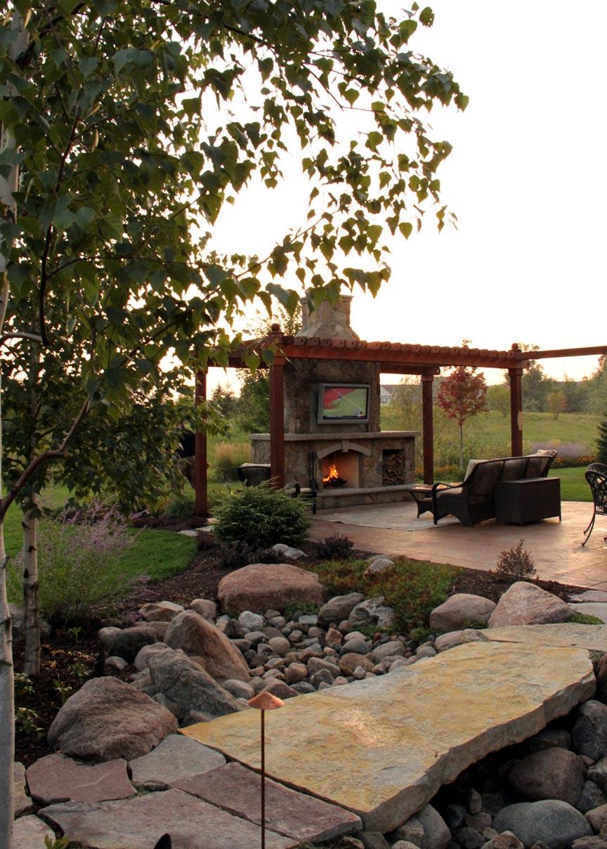 footbridge outdoor living