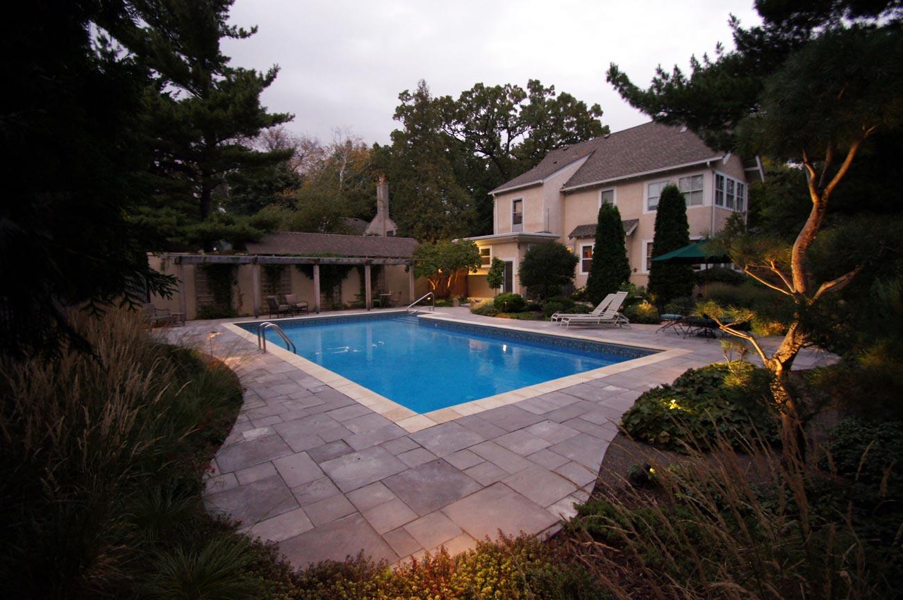 pool deck concrete