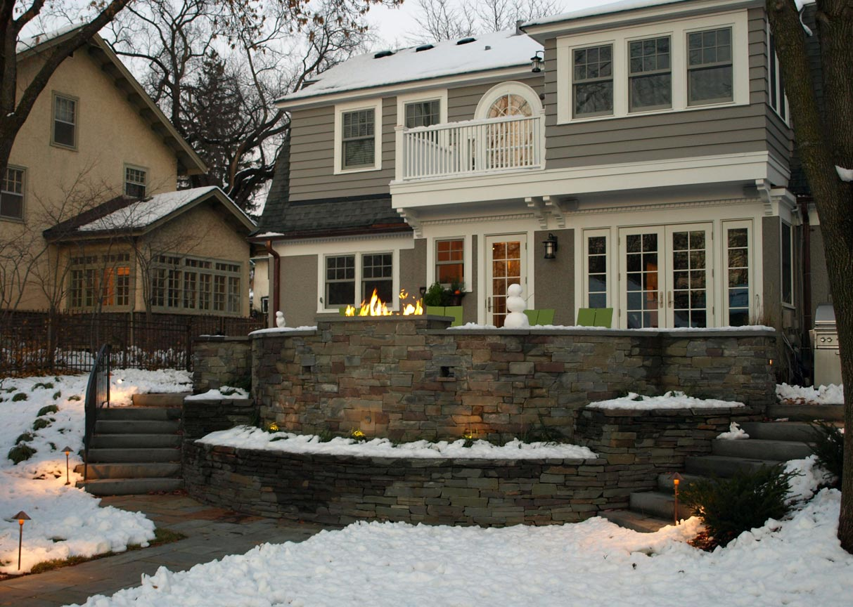 bluestone retaining walls