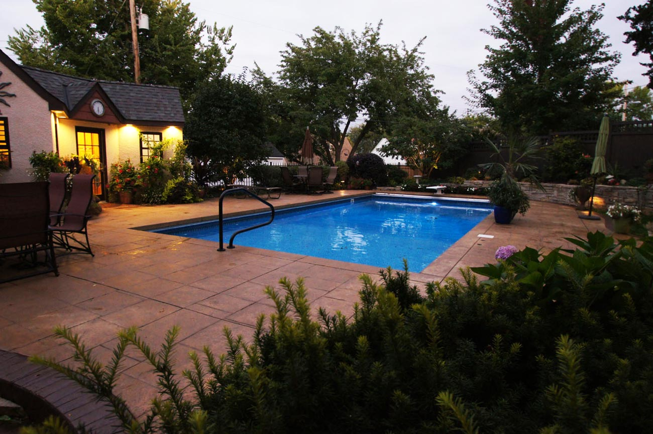 landscape architect designed pool