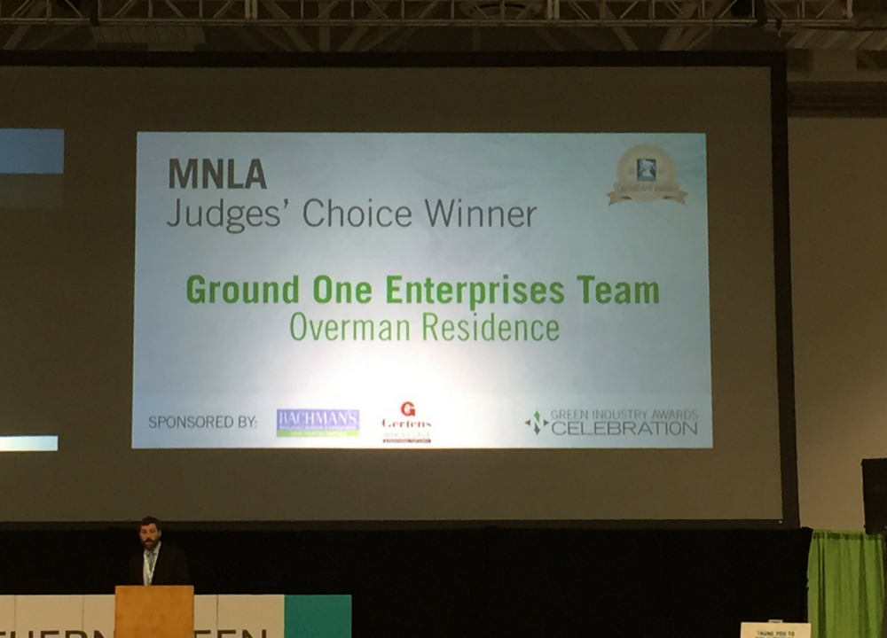 Ground One named Judges' Choice Winner