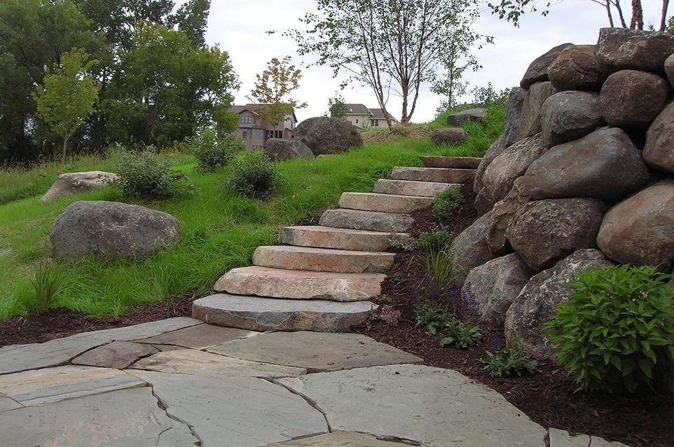 Eden Prairie, MN - Grotto -Rock Landscaping Design Company - Page Image - Ground One