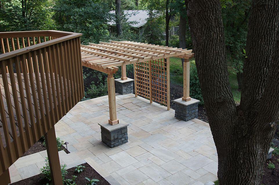 Minnetonka, MN - Backyard Patio Landscaping Design Company Ground Page Image One