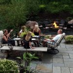 bluestone patio fire
