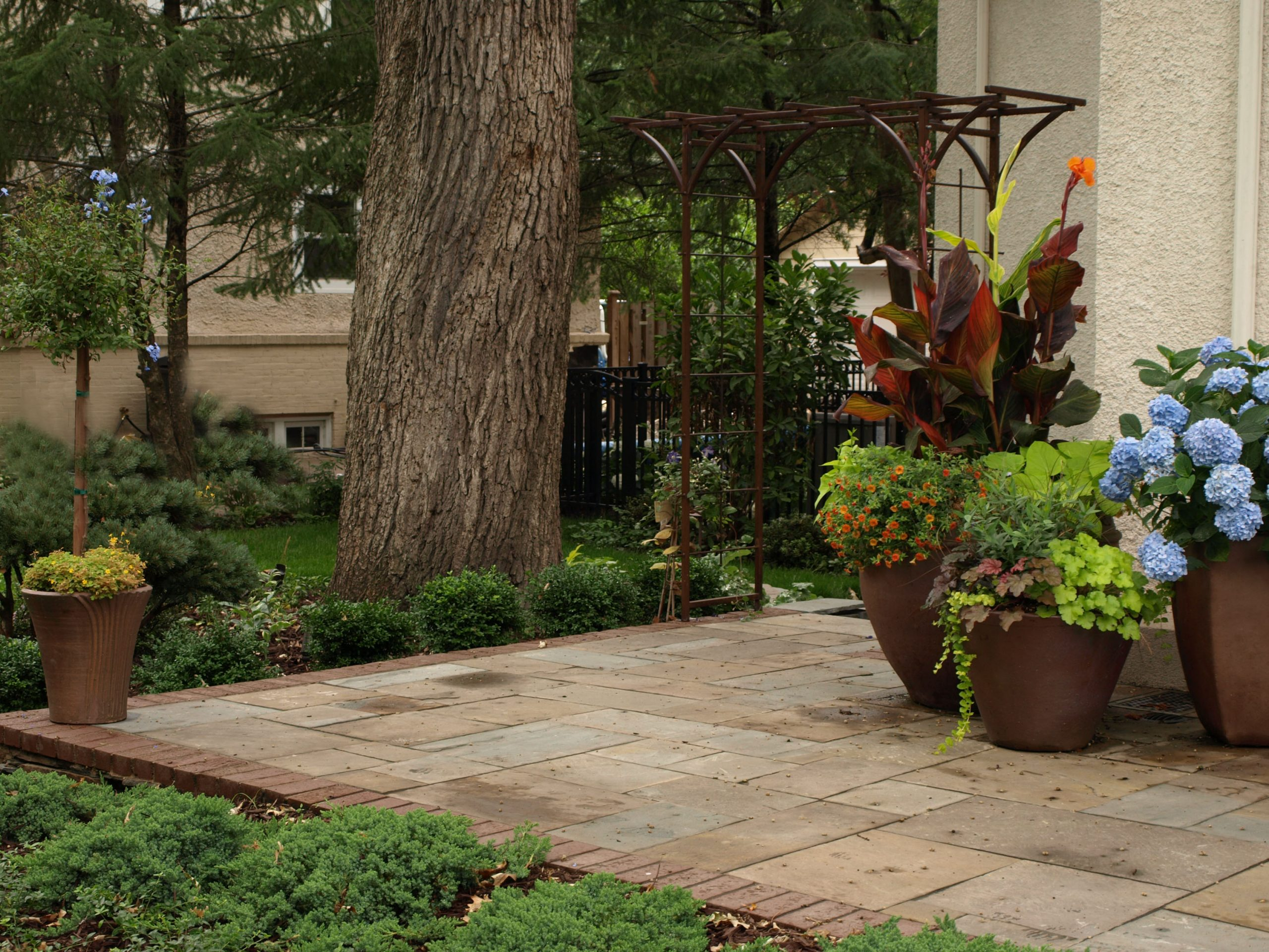 planting container installation in MN