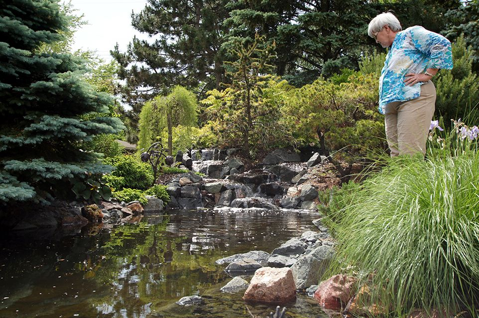 Bloomington, MN - Backyard - Water Landscaping Design Company - Ground One