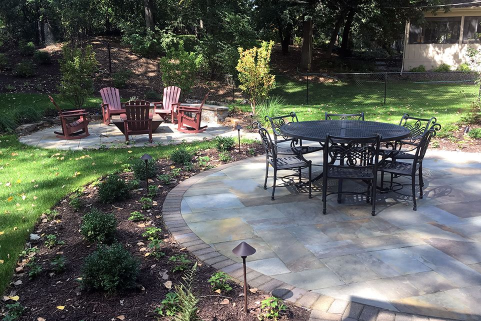 Edina, MN - Backyard Patio -Landscaping Design Company - Ground One