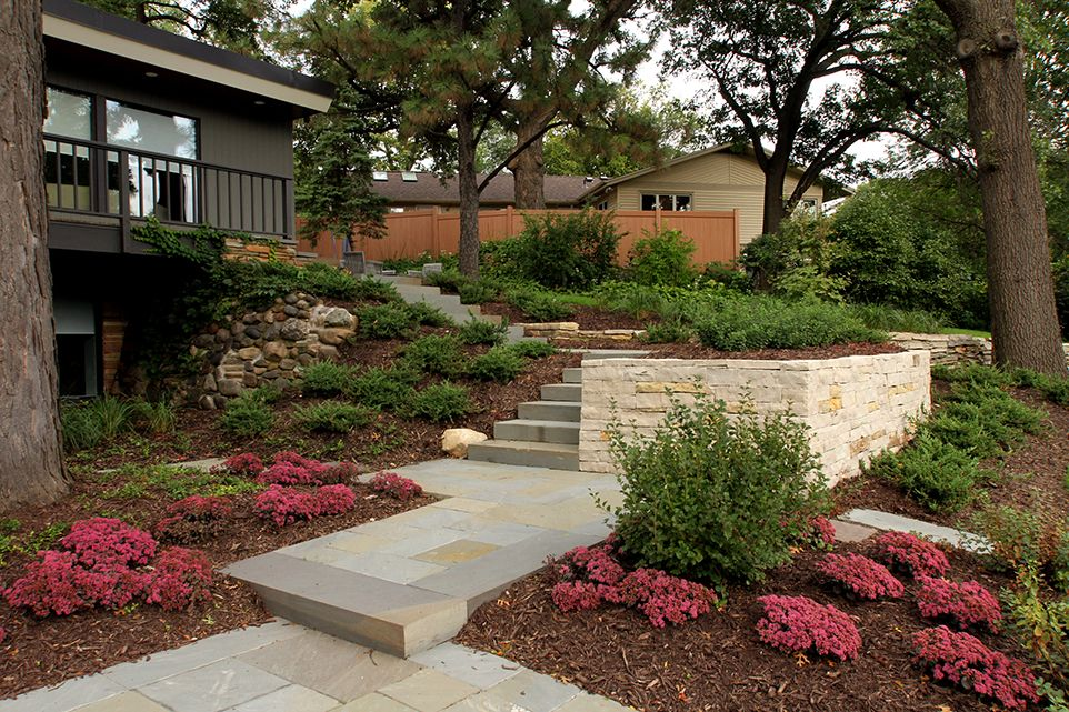 Golden Valley, MN - Frontyard Walkway - Landscaping Design Company - Page Image - Ground One