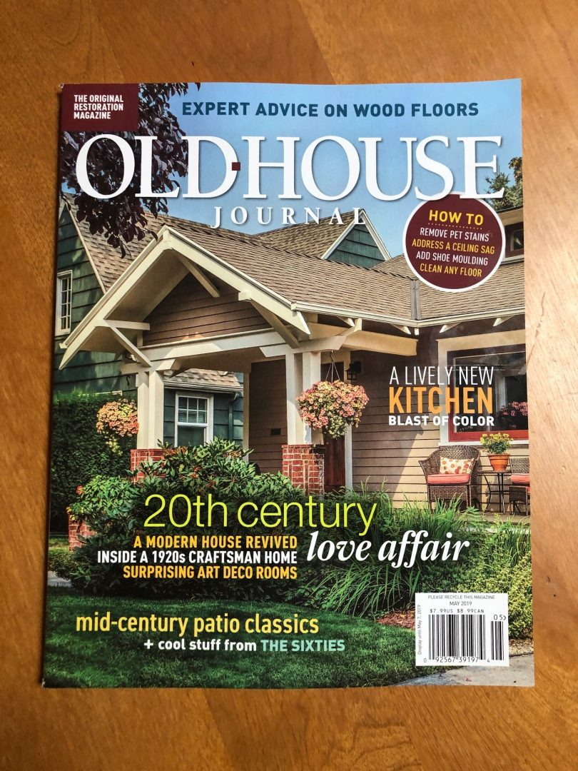 Old House Journal mid century landscapes Ground One